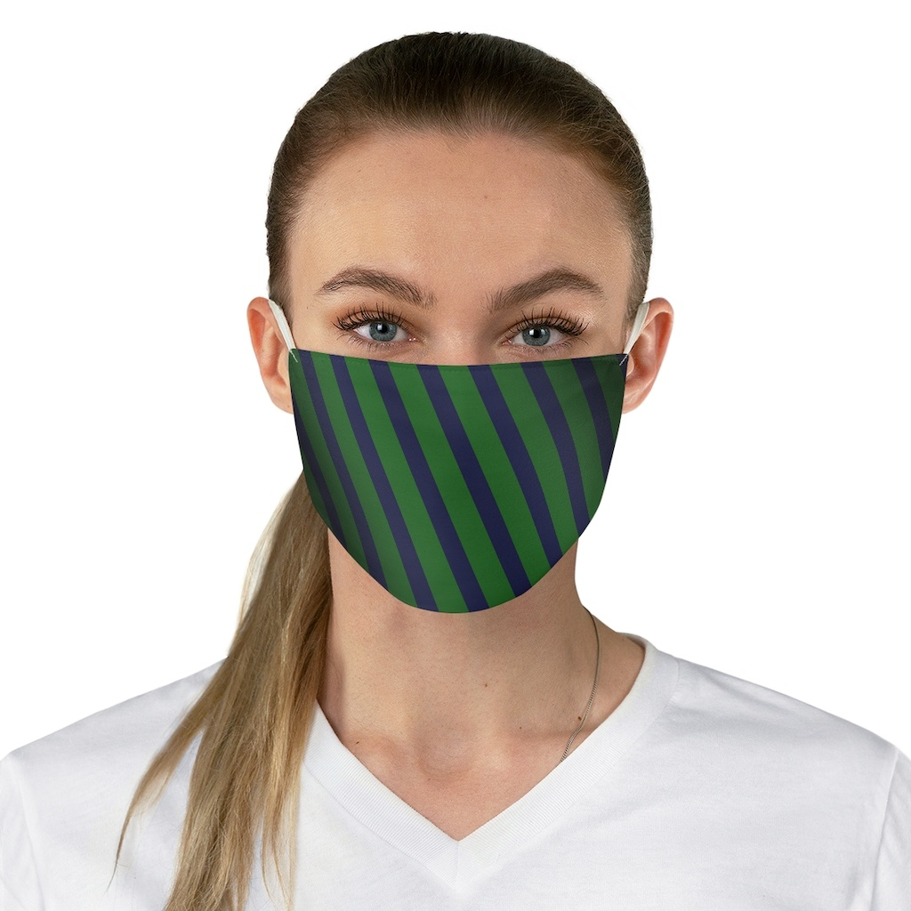 Fabric Face Mask – OPIE's Tie Pattern